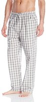 Nautica Men's Oatmeal Plaid Woven Pant