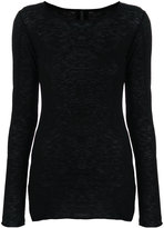 Barbara I Gongini fitted jumper