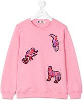 MSGM sweatshirt - kids - Cotton - 8 yrs