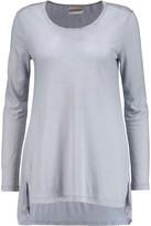 DKNY Modal-blend jersey top