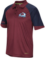 Reebok Men's Colorado Avalanche Center Ice Polo