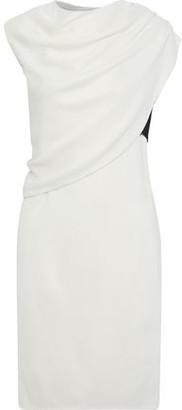 Narciso Rodriguez Layered Draped Jersey Dress