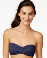 Anne Cole Bandeau Twist Bikini Top