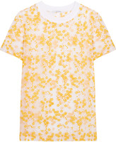 Carven Embroidered organza top
