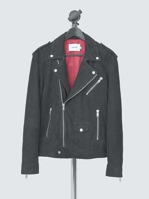 Deadwood Women's River Suede Biker Jacket