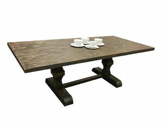 Ophelia & Co. Lesley Trestle Pedestal Base Extendable Dining Table & Co.