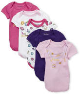 Juicy Couture Newborn Girls) Crown Jewel 5-Pack Bodysuits