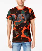 G Star Men's Camouflage Logo-Print T-Shirt