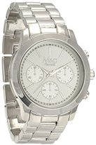MC M&c Ferretti Women's | Chronograph -Tone Textured Big Dial Watch | FT14201
