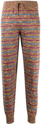 M Missoni Striped Tapered Track Pants