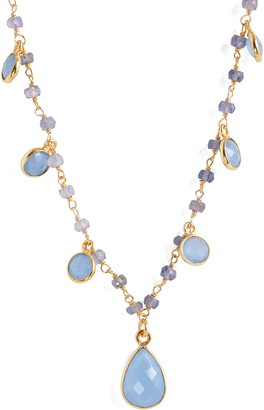 Riviera Semiprecious Stone Shaker Necklace