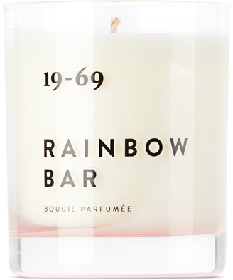 19-69 Rainbow Bar Candle, 6.7 oz