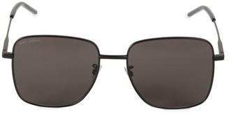 Saint Laurent 57MM Square Sunglasses