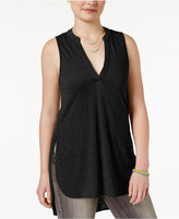 Almost Famous Juniors' Sleeveless Utility Tunic