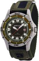 Kahuna Men's Watch K5V-0003G with Green Rip Strap