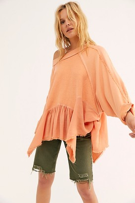 Free People Gold Duster Pullover