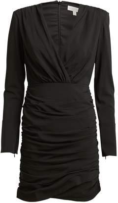 Ronny Kobo Mariana Draped Mini Dress