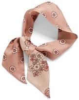 Kate Spade Women's Reversible Floral Print Silk Scarf