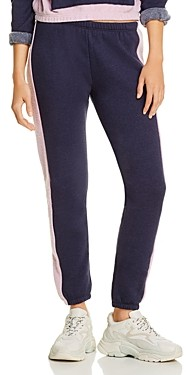 Wildfox Couture Knox Contrast Trim Track Pants