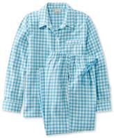 L.L. Bean L.L.Bean Flannel Pajama Set, Gingham