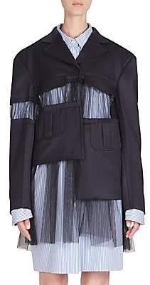 Maison Margiela Women's Cavalry Wool Jacket