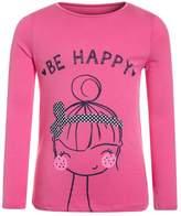 Mothercare BE HAPPY UBER Print Tshirt pink