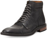 Cole Haan Canton Cap-Toe Leather Boot, Black