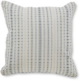 One Kings Lane Kersey 18x18 Pillow - Ocean Sunbrella