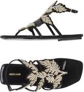 Roberto Cavalli Toe strap sandals - Item 11218238