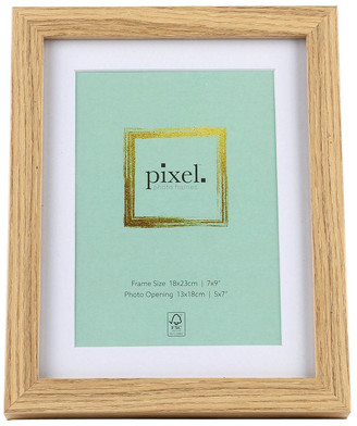 Pixel Photo Frames Pixel Natural Photo Frame 18x23cm with 13x18cm Opening