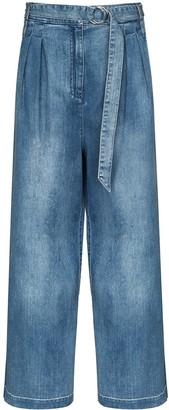 Tibi Stella wide-leg jeans