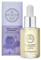 Botanics Triple Age Renewal Facial Oil .84 oz