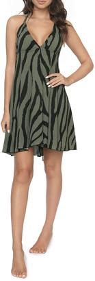 PQ Swim Gianna Animal-Print Coverup Dress