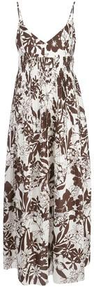 Nicholas Floral Print Midi Dress