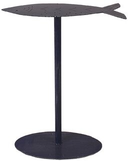 Highland Dunes Isaias Fish Top End Table