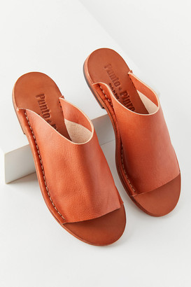 Punto Pigro Leather Slide Sandal