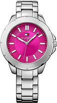 Tommy Hilfiger Three-Hand Silver-Tone Stainless Steel Women's watch #1781436