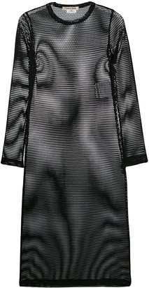 Comme des Garcons Sheer Mesh Dress