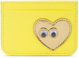 Sophie Hulme heart cardholder - women - Leather - One Size