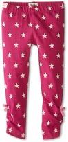 Hatley Stretch Jersey Leggings - Magenta Stars (Toddler/Little Kids/Big Kids)
