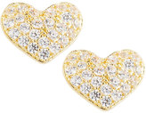 Fragments for Neiman Marcus CZ Heart Stud Earrings