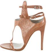 Camilla Skovgaard Metallic Cutout Sandals