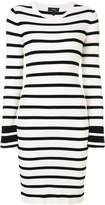 Theory striped knit dress