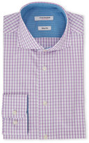 Isaac Mizrahi Slim Fit Check Dress Shirt