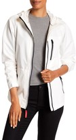 Vince Camuto Ripstop Front Zip Hooded Jacket