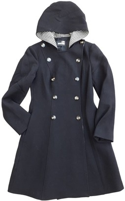 Moschino Love Black Wool Coat for Women