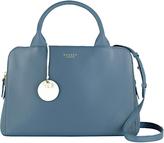 Radley Millbank Medium Leather Multiway Bag, Blue