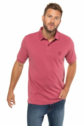 JP 1880 Men's Big & Tall 2-Pack Polo Shirts Old Red Navy Large 704317 53-L