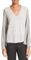 ATM Anthony Thomas Melillo Women's Merino Wool & Silk Sweater