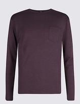 David Gandy For Autograph Modal Blend Striped Pyjama Top